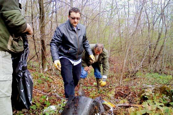 """I naša škola je sudjelovala u akciji """"Zelena čistka 2012"""""""