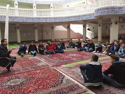 Posjeta zagrebačkoj džamiji