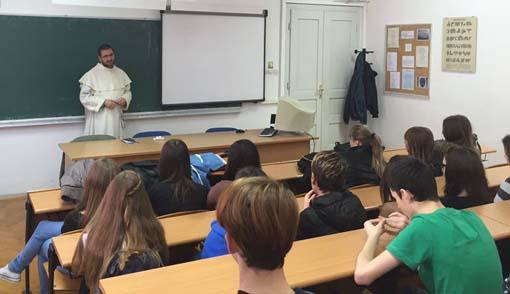 Predavanje pavlina Marka Glogovića