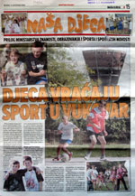 Školski sport u tisku