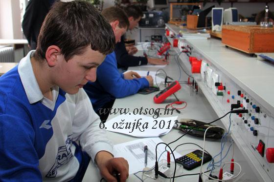 Međužupanijsko natjecanje iz Osnova elektrotehnike i Mjerenja u elektrotehnici